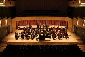 et foto af orkester