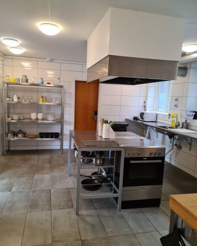 køkken hos Aarhushostel